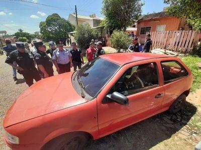 Un delincuente muerto y dos detenidos tras asalto en PJC