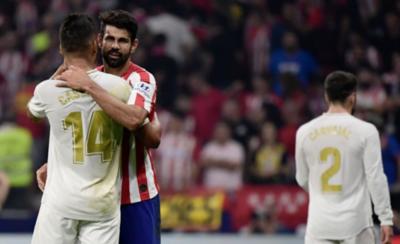HOY / Atlético y Real Madrid empatan en un derbi de respeto