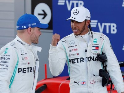 Hamilton gana en Sochi
