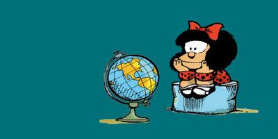 Mafalda, la niña rebelde y contestaria, cumple 55 años