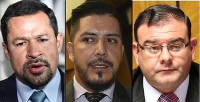 Portillo, Rivas y Quintana, con las barbas en remojo. Diputados decidirían esta semana su destino