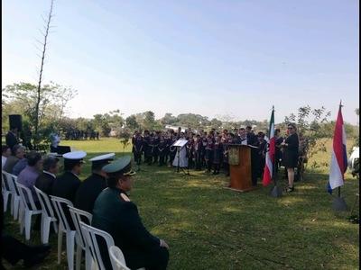 Conmemoran 87° aniversario de la Batalla de Boquerón en Encarnación