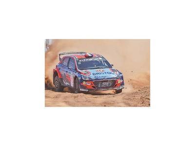 Rally, testeando tramos