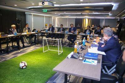 Reunión de los semifinalistas de la Libertadores