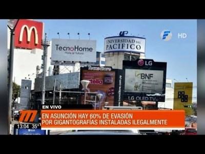 Pretenden quitar carteles para descontaminar Asunción