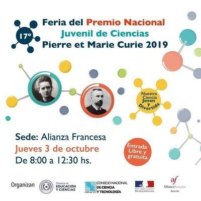 Feria Nacional Juvenil de Ciencias será este jueves