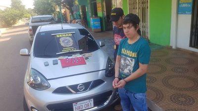 Hacía delivery de cocaína en Caaguazú