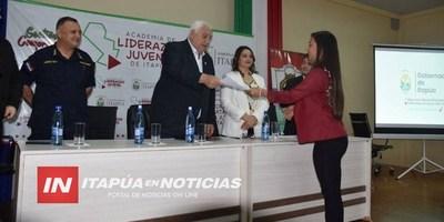 JÓVENES REALIZARON CLAUSURA DE LA ACADEMIA JUVENIL DE LIDERAZGO