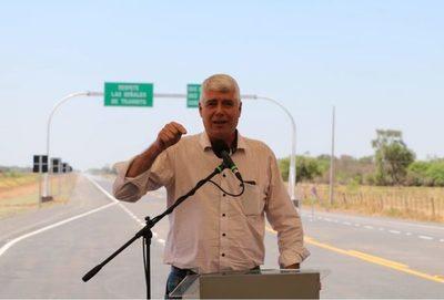 Wiens promete más obras para el Chaco