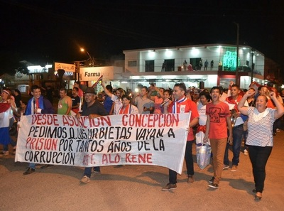 Repudio en Concepción al proyecto del diputado Urbieta