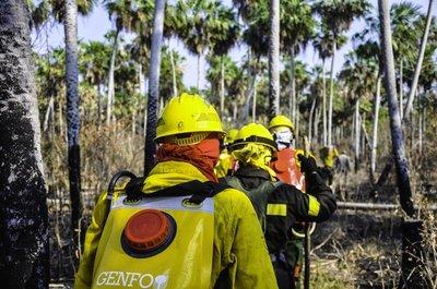 Estados Unidos donará equipos de protección para combatir fuego en el Chaco