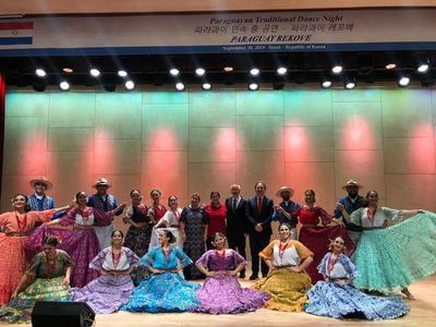 Grupo folklórico lleva tradición hasta Corea