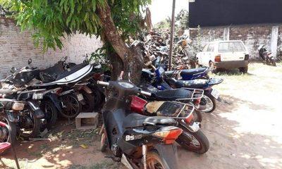 Incautan diez motocicletas durante control en Hernandarias