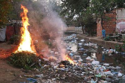 Incendios forestales: Bomberos ruegan no quemar basura y pastizales