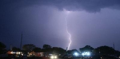 Emiten alerta por lluvias y tormentas eléctricas