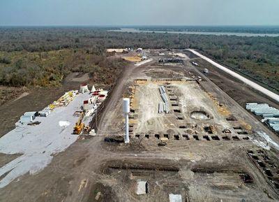 Avanza la construcción de la cementera más importante del país