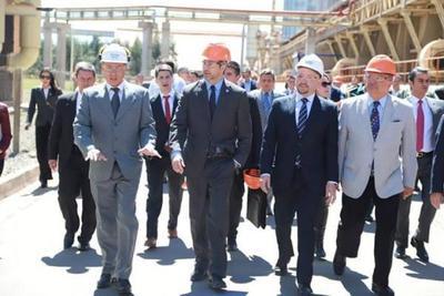 Mandatario asistirá a inauguración de planta de producción de tuberías de alta densidad