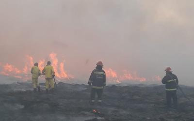 Ministro de la SEN cree que incendio en Parque Guasu fue por acción humana