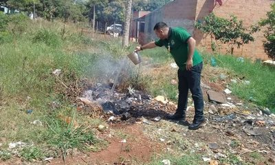(0971) 840-450 el número para denunciar a quienes queman basuras en CDE