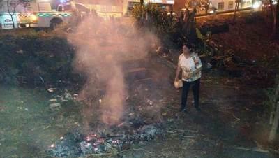 Municipalidad de CDE habilita número de denuncias por quema de basura y crea brigadas de intervención