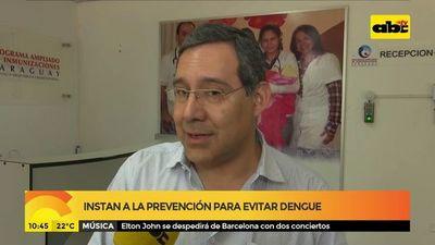 Instan a la prevención para evitar el dengue
