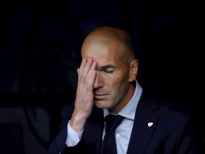 Zidane empieza a preparar la visita del Granada tras nuevo tropiezo europeo