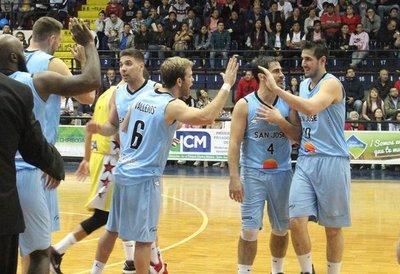 San José triunfa en su debut en la Liga Sudamericana de Basket