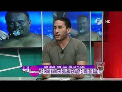 Mortero Bala molesto por su calificación en el Baila 2019
