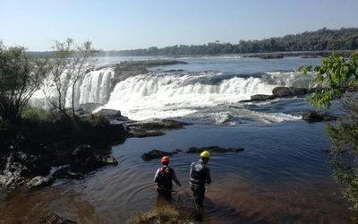 Retiran 90 kilos de monedas de las Cataratas del Yguazú