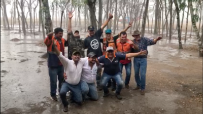 HOY / Llueve en zonas de grandes focos de incendio en el Chaco: la naturaleza trae el alivio