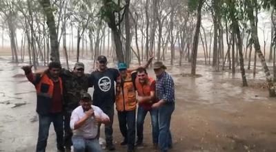 Alivio para el Chaco: Llueve en Chovoreca