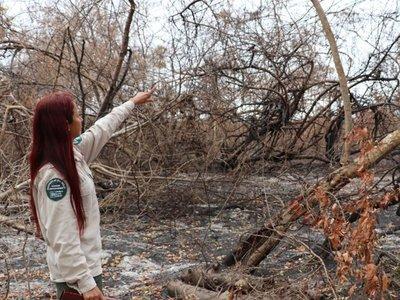 El fuego se controló en Chovoreca y Caazapá, pero siguen conflictos