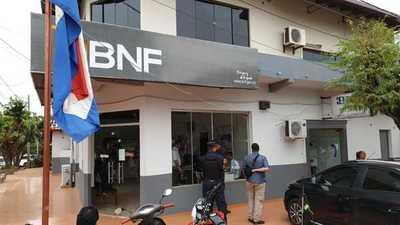 Yby Yaú: Allanan sucursal del BNF tras detención de gerente