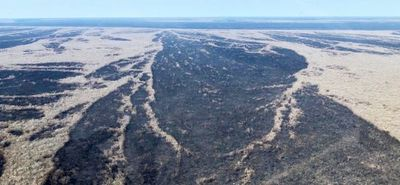 """Esperan más lluvias """"para ganar la guerra contra el fuego"""" en el Chaco"""