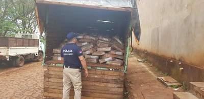 Incautan más de 3.000 kilos de mercaderías de contrabando en Minga Guazú