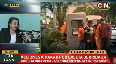 Anuncian acción judicial contra intendente de CDE tras destrucción de caseta