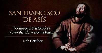 Santoral recuerda hoy a San Francisco de Asís