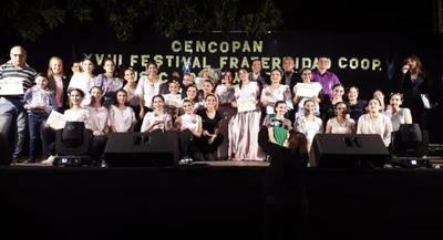 Representante de la Cooperativa Yoayu ganó en canto infantil en Festival