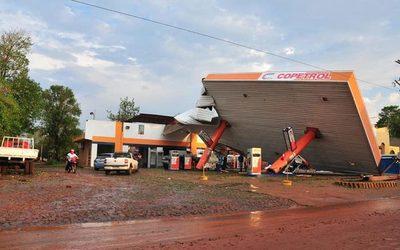 Temporal en el Alto Paraná