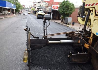 Arreglan importante avenida sanlorenzana