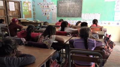 Denuncian escasez de merienda y almuerzo escolar en escuela indígena