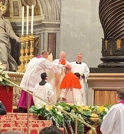 """Cristóbal López, el cardenal con """"corazón paraguayo"""", fue investido en el Vaticano"""