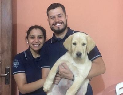 Perro raptado en Luque se reencuentra con su familia