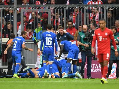 Bayern Múnich cae de local ante el Hoffenheim