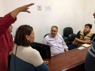 Intendente de Franco denuncia que la SEN politiza entrega de chapas