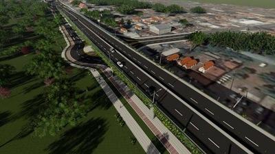 HOY / Construcción de muro perimetral avanza 60 metros por día para obras del Corredor Vial Botánico