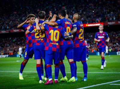 Messi vuelve a marcar en la goleada del Barcelona al Sevilla