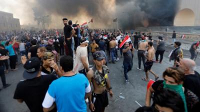 Irak anuncia acciones contra fuerzas que reprimieron protestas en Bagdad