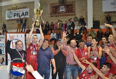 Pilar campeón del Torneo Nacional U17 masculino de Básquetbol