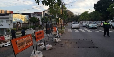 HOY / MOPC bloquea varios cruces por obras de alcantarillado